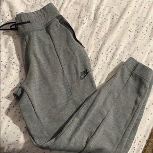 Nike tech dark grey sweatpants